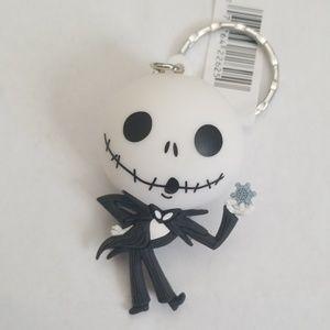 Nightmare Before Christmas Figural Keyring-Jack